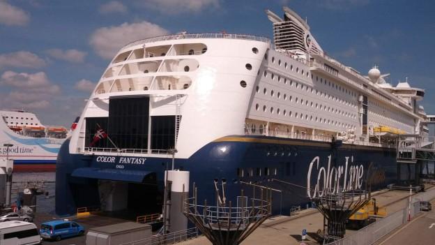 Minikreuzfahrt Kiel-Oslo-Kiel mit der Color Fantasy